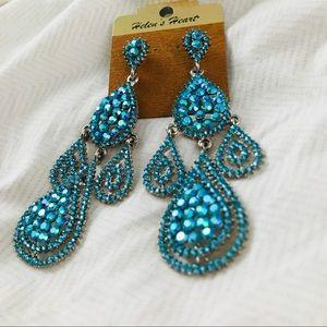 Jewelry - ♏️SOLD♏️ Pageant Earrings